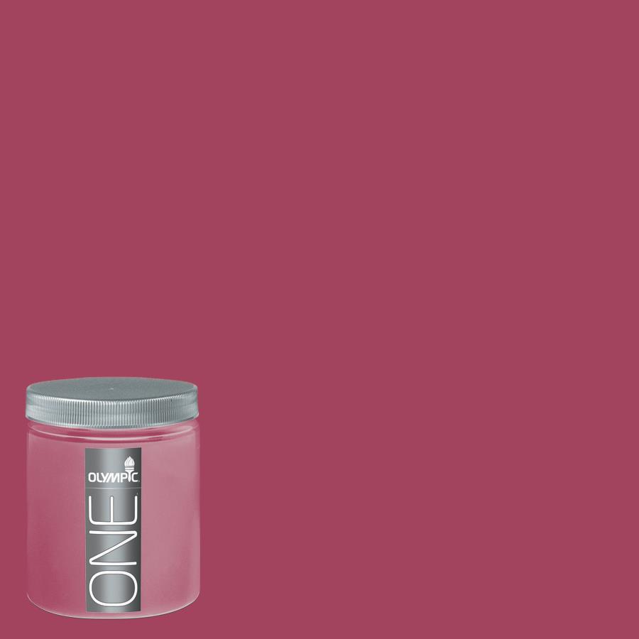 Olympic 8-oz Heart's Desire Interior Satin Paint Sample