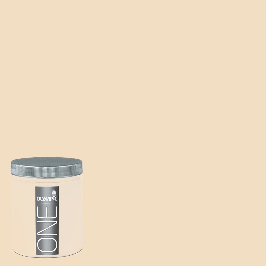 Olympic 8-oz Honey Beige Interior Satin Paint Sample