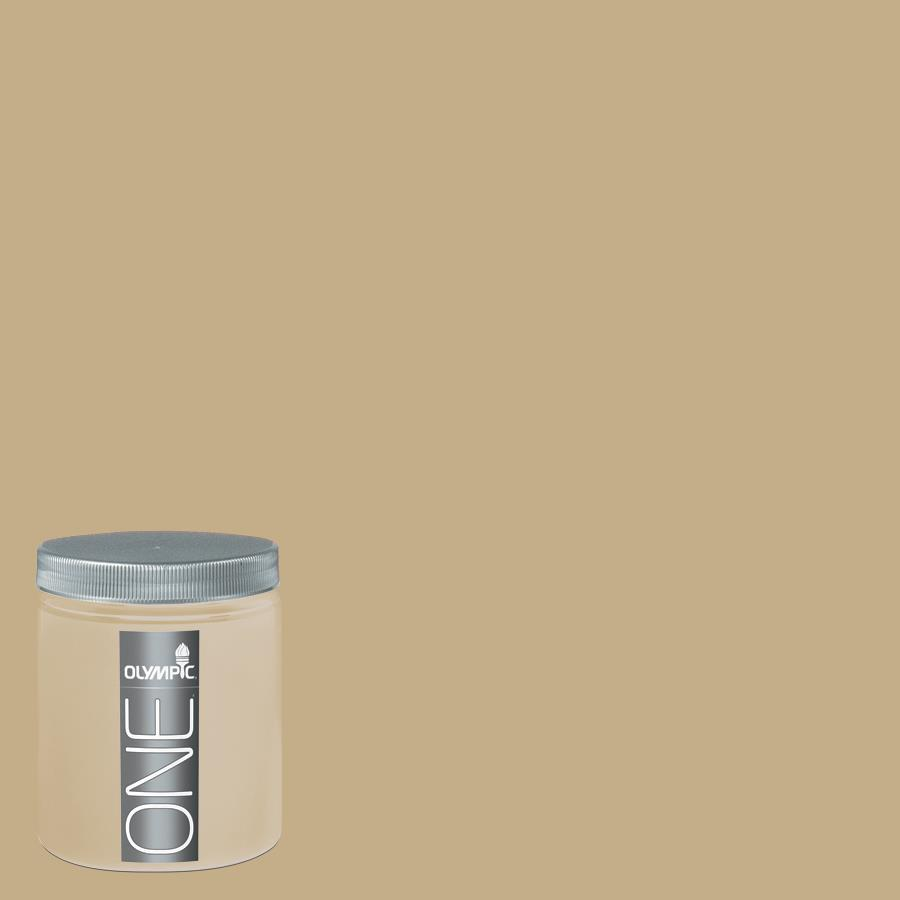 Olympic 8-oz Earthy Cane Interior Satin Paint Sample