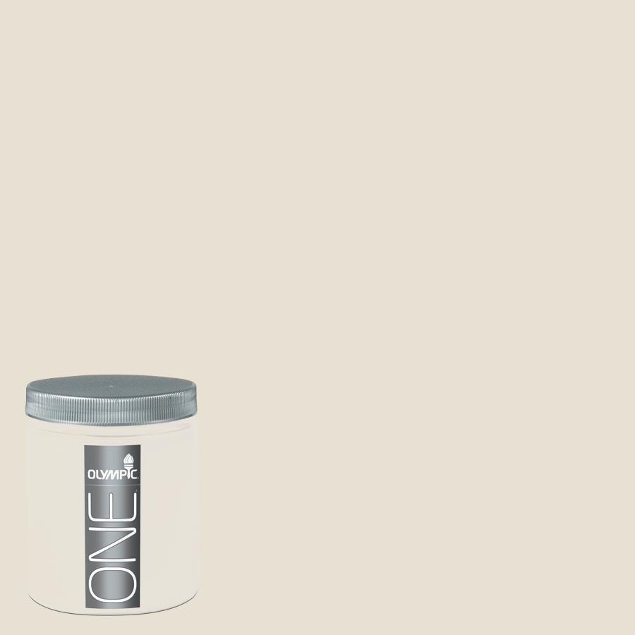Olympic 8-oz Off White Interior Satin Paint Sample