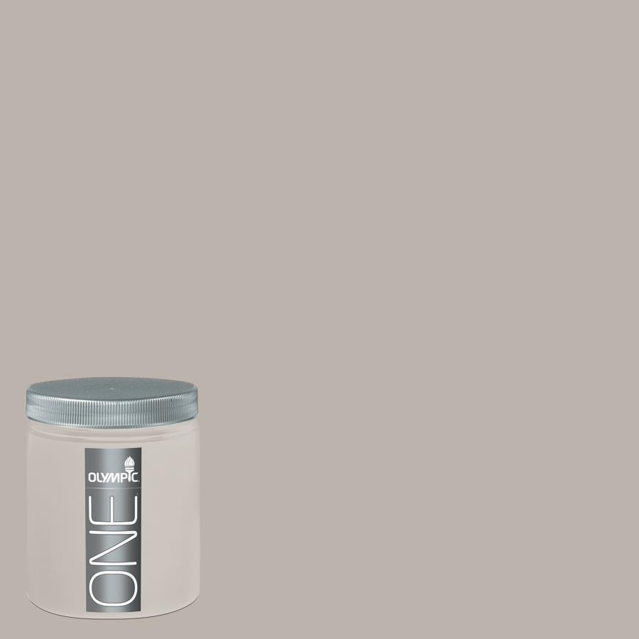 Olympic 8-oz Silver Dollar Interior Satin Paint Sample
