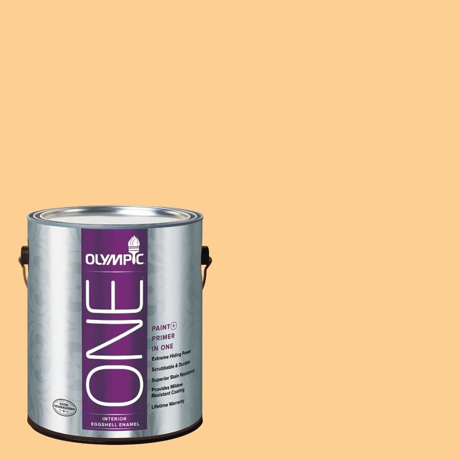 Olympic ONE Evening Glow Eggshell Latex Interior Paint and Primer In One (Actual Net Contents: 124-fl oz)