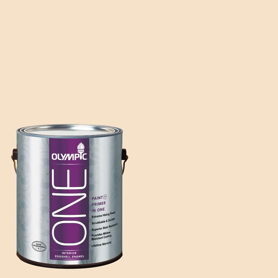 Olympic ONE Magnolia Spray Eggshell Latex Interior Paint and Primer In One (Actual Net Contents: 124-fl oz)