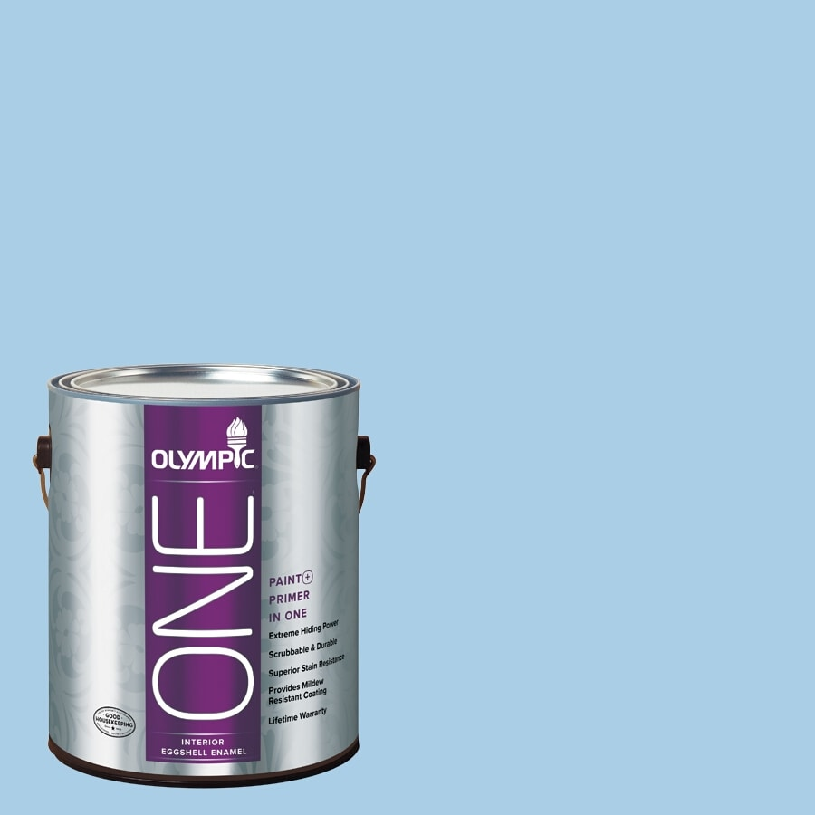 Olympic ONE Spa Eggshell Latex Interior Paint and Primer In One (Actual Net Contents: 124-fl oz)