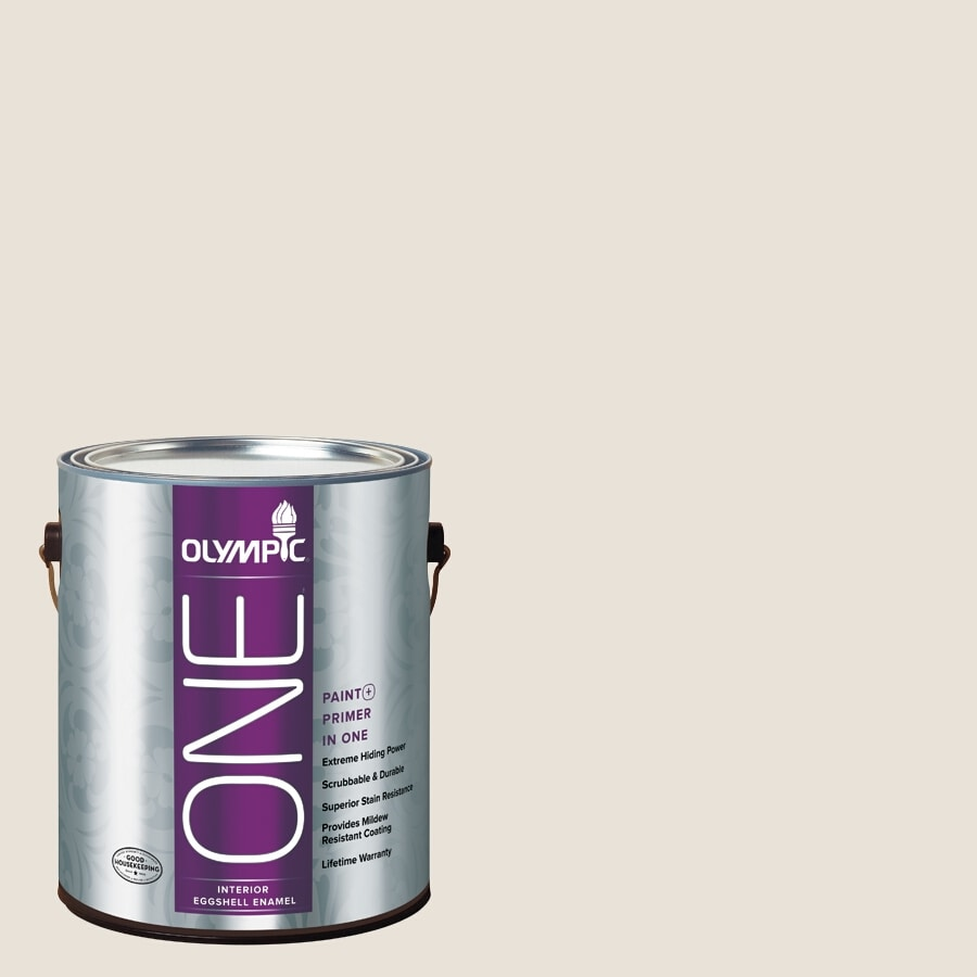 Olympic ONE Diamond Mine Eggshell Latex Interior Paint and Primer In One (Actual Net Contents: 124-fl oz)