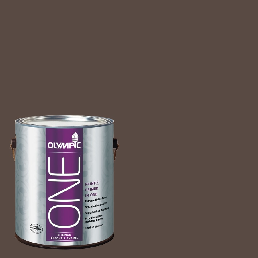 Olympic ONE Sarsaparilla Eggshell Latex Interior Paint and Primer In One (Actual Net Contents: 114-fl oz)