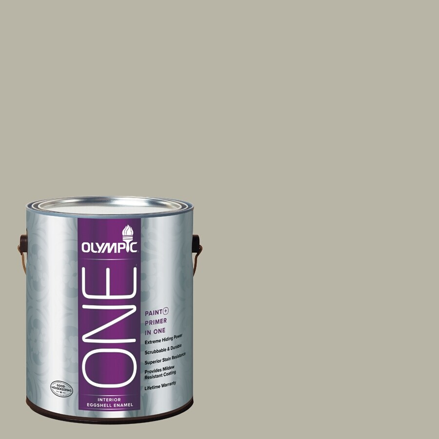 Olympic ONE Sprig Of Ivy Eggshell Latex Interior Paint and Primer In One (Actual Net Contents: 116-fl oz)