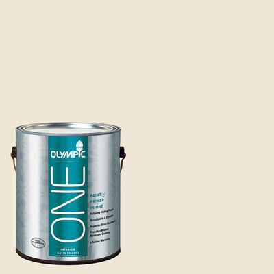 Olympic One Milk Paint Satin Latex Interior Paint And Primer