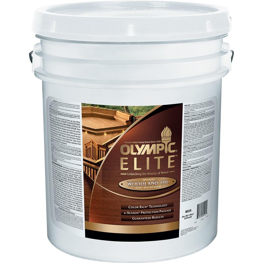 Shop Olympic Elite Woodland Oil Mountain Cedar Semi-Transparent ...