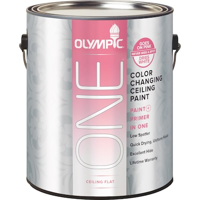 One Color Changing Ceiling Paint