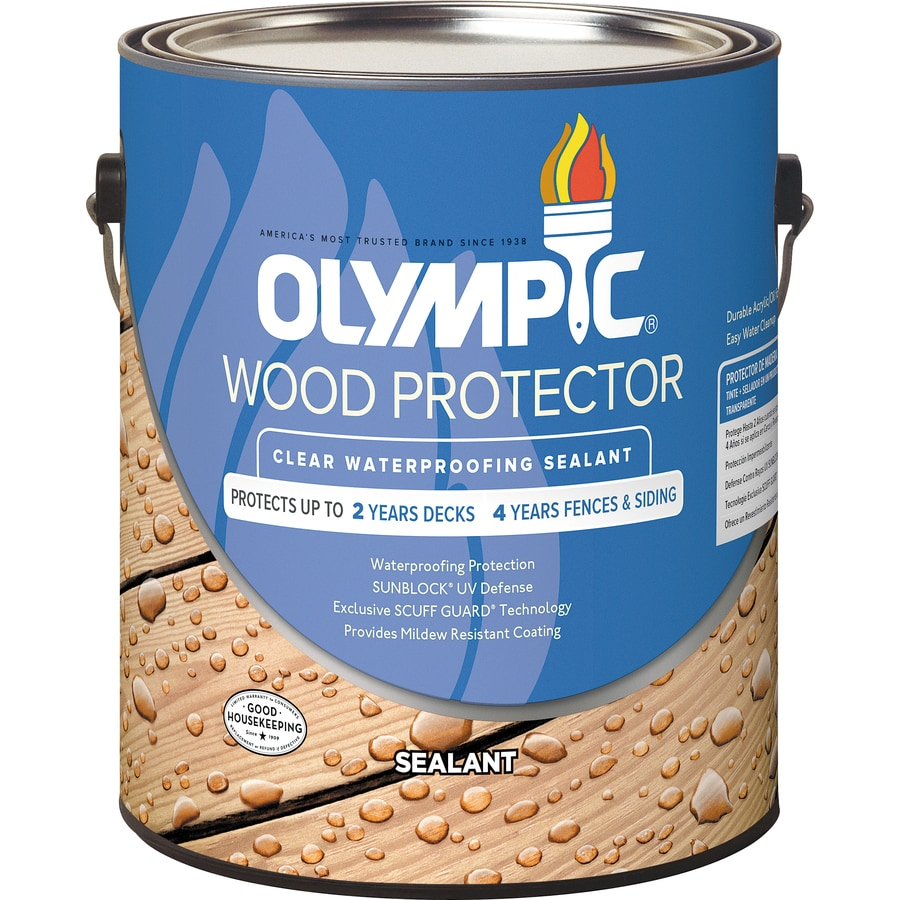 Olympic Wood Protector Clear Exterior Stain (Actual Net Contents: 128 Fl Oz)