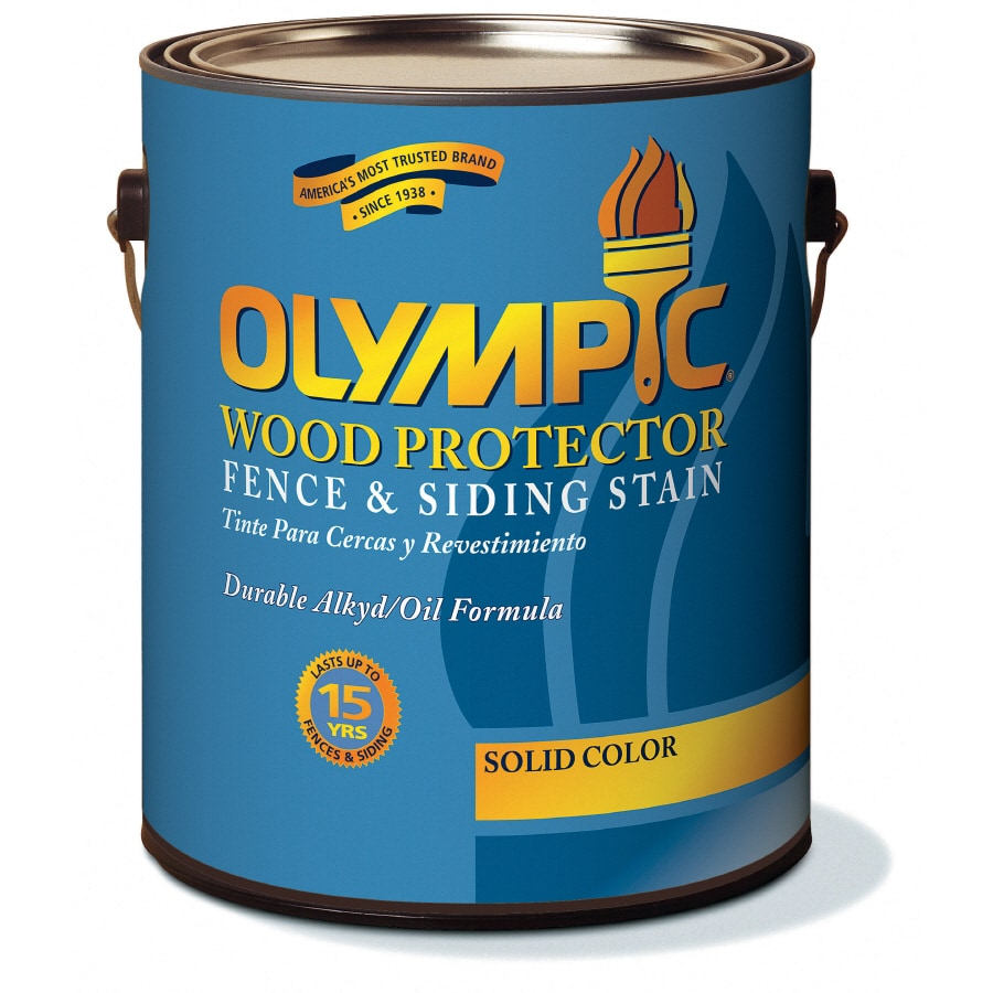 Olympic Tintable Multiple Solid Exterior Stain (Actual Net Contents: 121-fl oz)