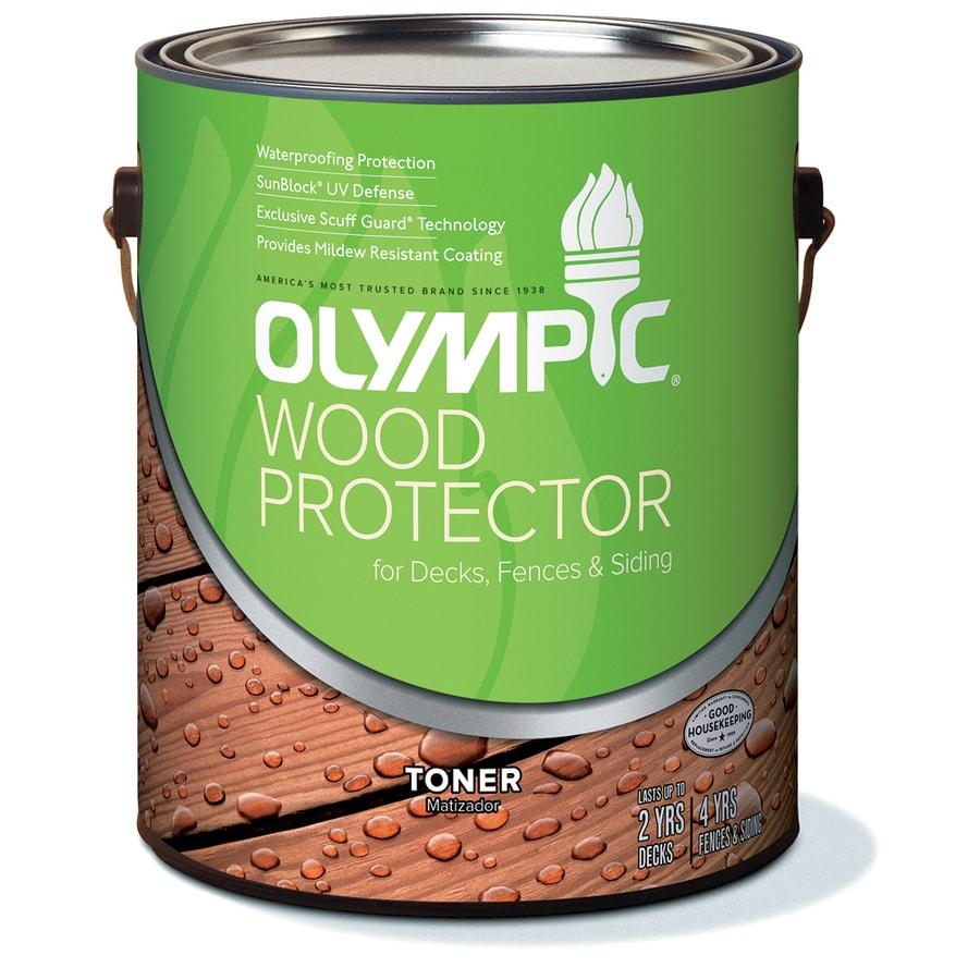Olympic Cedar Naturaltone Semi-Transparent Exterior Stain (Actual Net Contents: 128-fl oz)