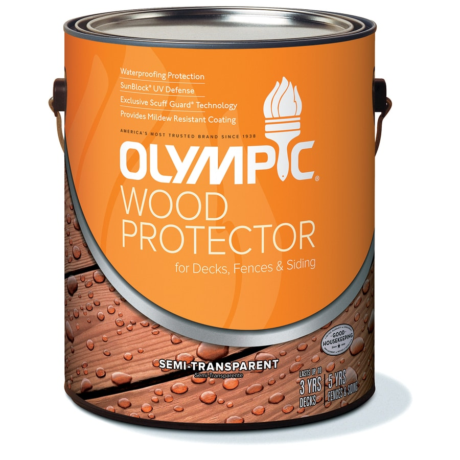 Olympic 1- Gallon(S) Cedar Naturaltone Semi-Transparent Exterior Stain