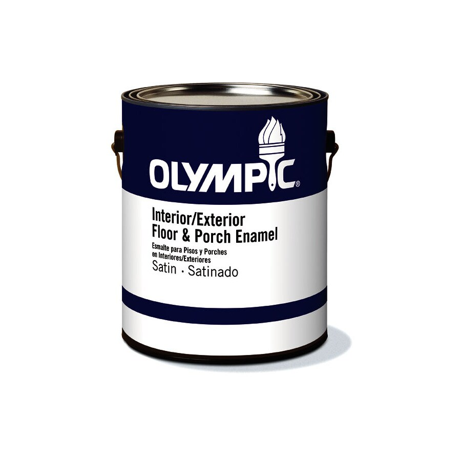 Olympic Clear Satin Latex Interior/Exterior Paint (Actual Net Contents: 120-fl oz)