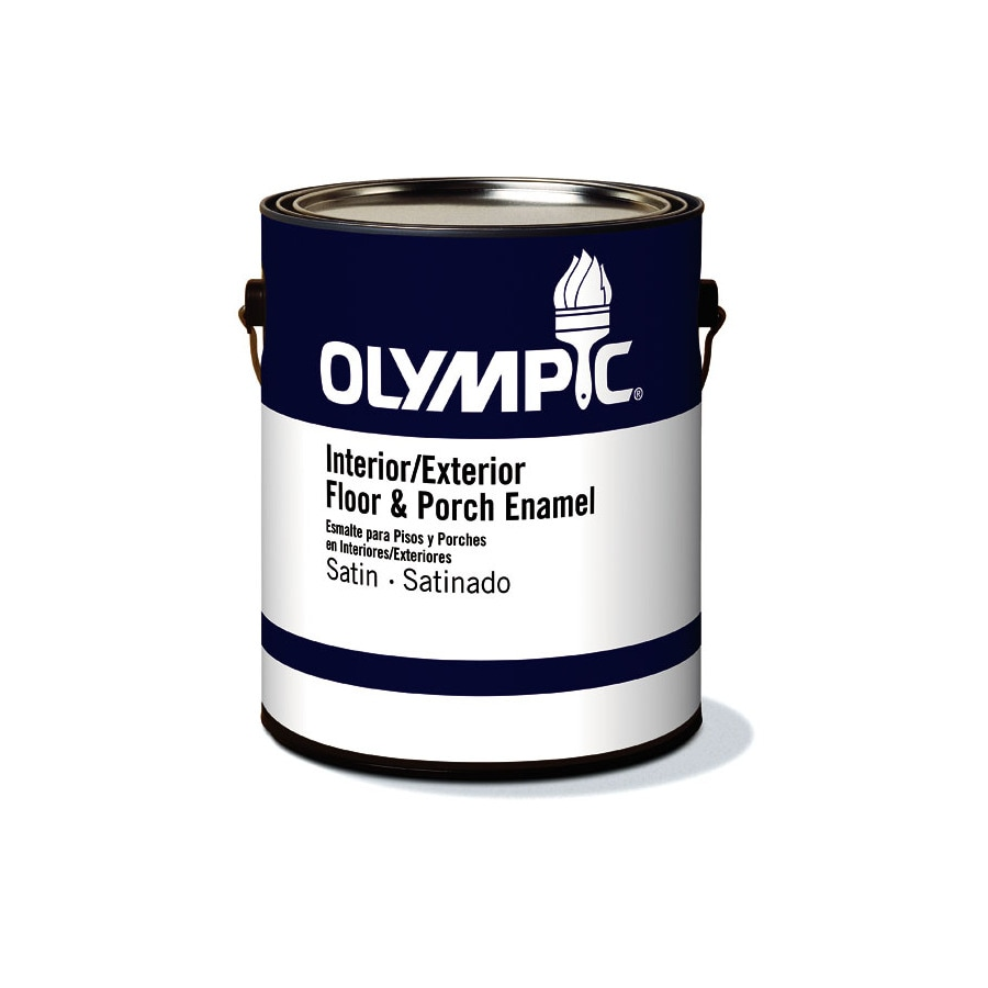Olympic Clear Satin Latex Interior/Exterior Paint (Actual Net Contents: 116-fl oz)
