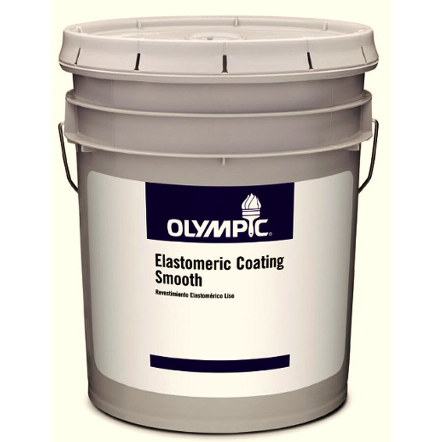 Olympic White Flat Latex Exterior Paint (Actual Net Contents: 619-fl oz)