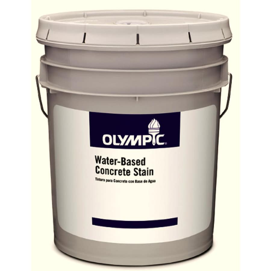 Olympic White Satin Latex Interior/Exterior Paint (Actual Net Contents: 619-fl oz)