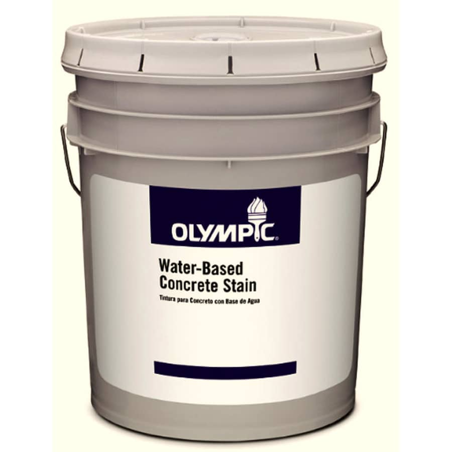 Olympic Clear Satin Latex Interior/Exterior Paint (Actual Net Contents: 579-fl oz)