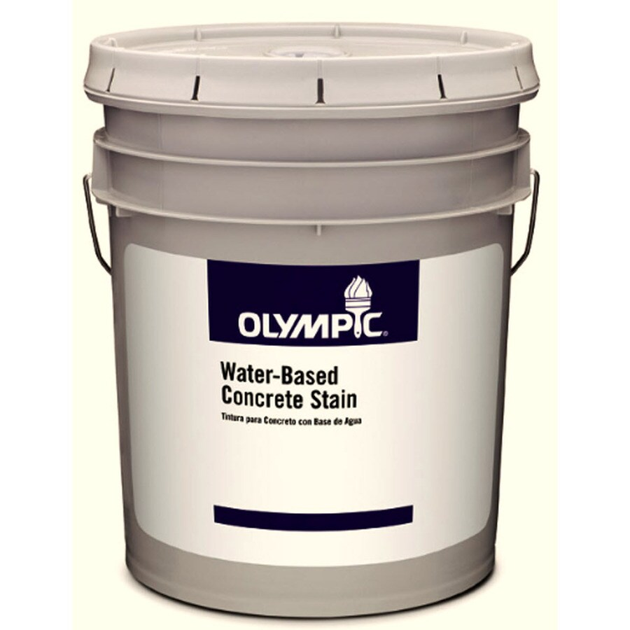Olympic Clear Satin Latex Interior/Exterior Paint (Actual Net Contents: 569-fl oz)