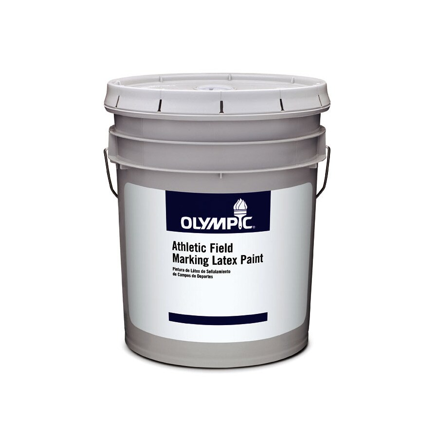 Olympic White Latex Marking Paint (Actual Net Contents: 640-fl oz)