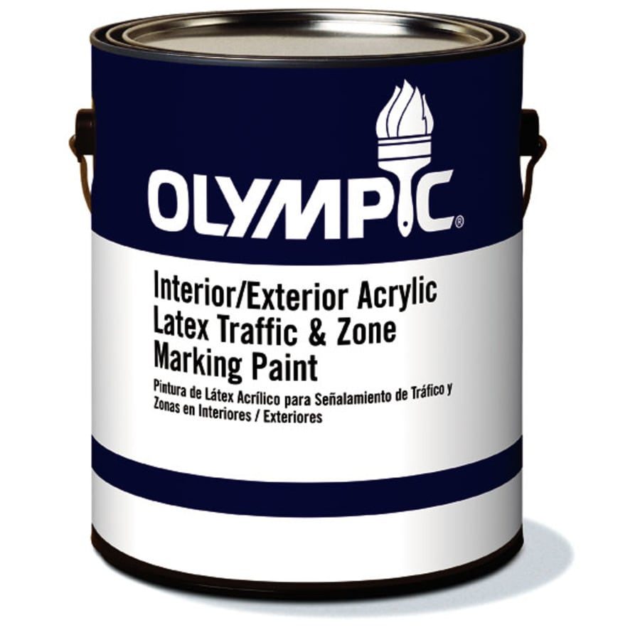 Olympic Red Latex Marking Paint (Actual Net Contents: 128-fl oz)