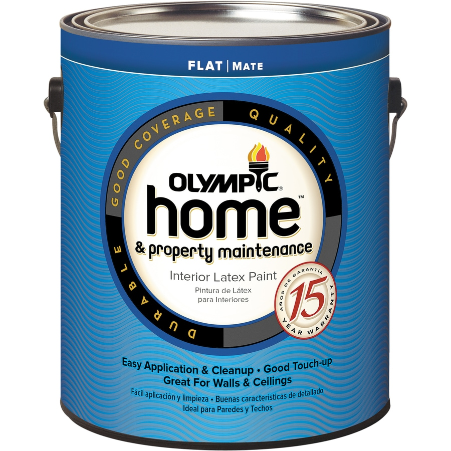 Olympic Home Tintable Flat Latex Interior Paint (Actual Net Contents: 114-fl oz)