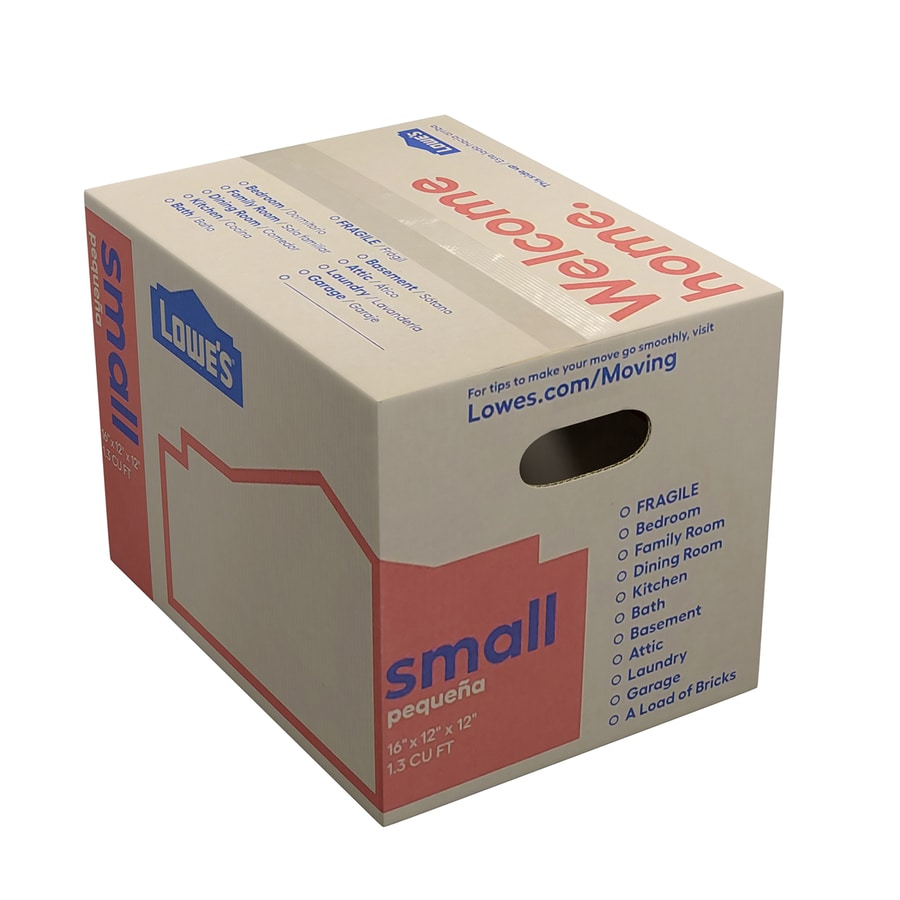 Classic Small Cardboard Moving Box (Actual 16-in x 12-in)