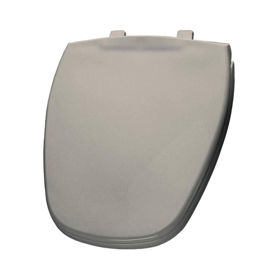 Bemis Innocent Blush/Zinfandel Plastic Round Toilet Seat