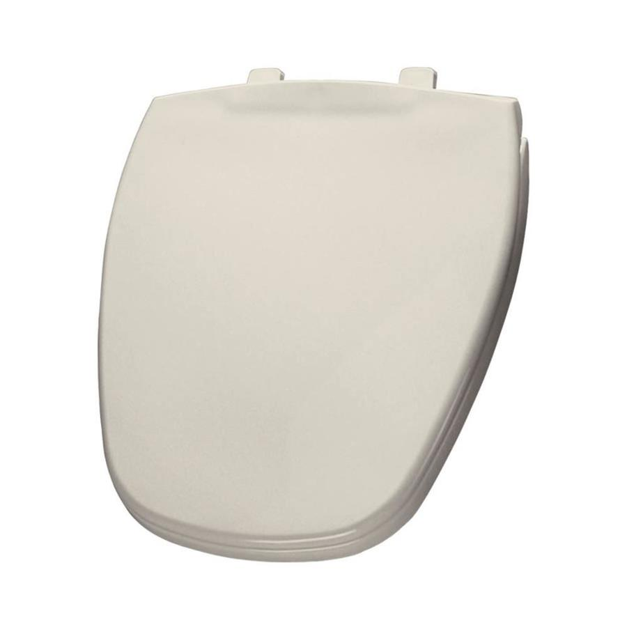 Bemis Biscuit/Linen Plastic Round Toilet Seat