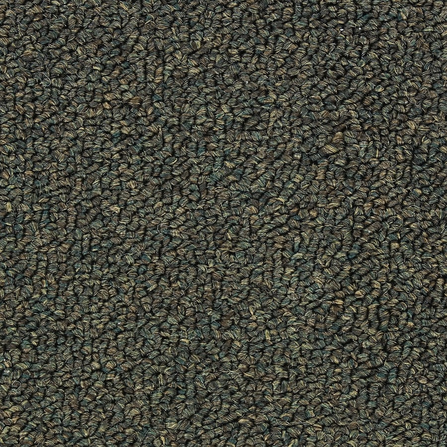 Abilene II Napa Green Berber Indoor Carpet