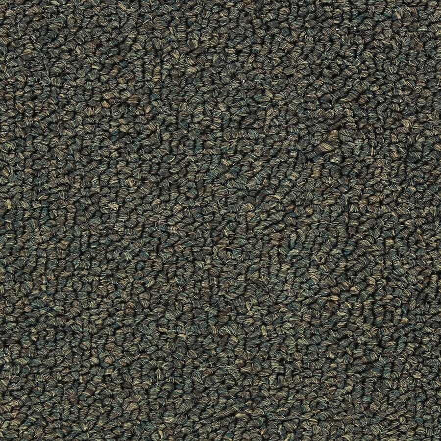 Abilene II Napa Green Berber Indoor Carpet