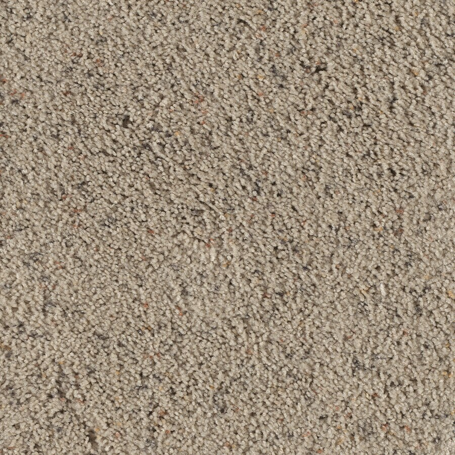 STAINMASTER Taos II Rain Cloud Berber Indoor Carpet