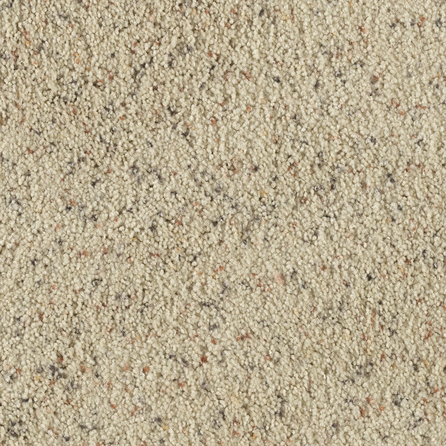 STAINMASTER Taos II French Lace Berber Indoor Carpet