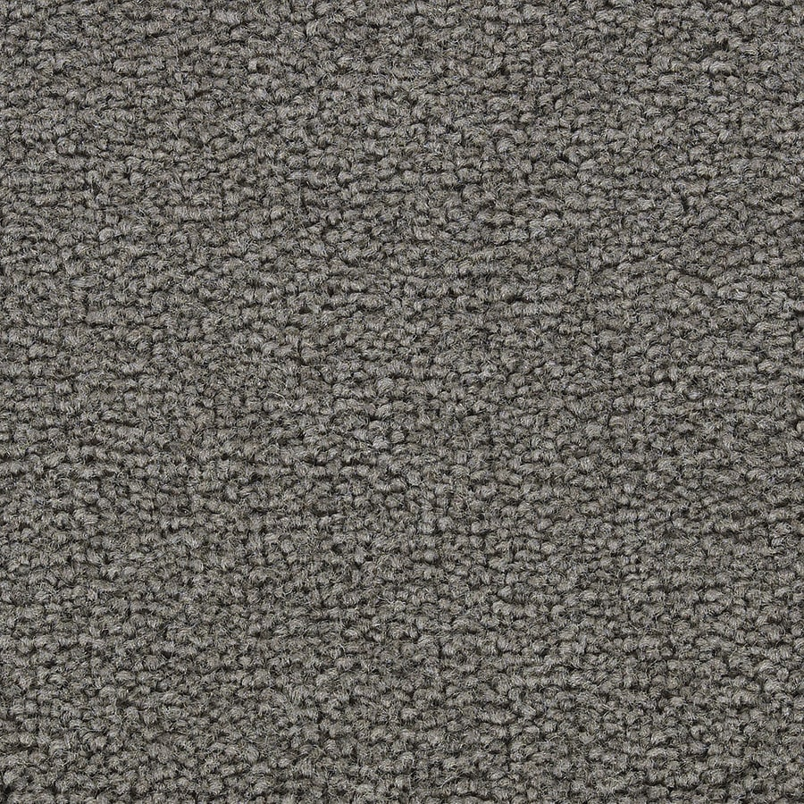 Coronet Big Hearted Pewter Textured Indoor Carpet