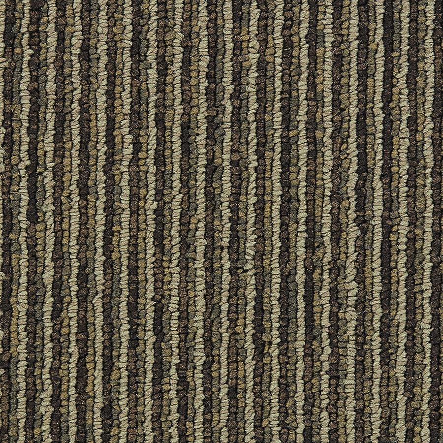 Coronet Promoter 18-Pack 24-in x 24-in Challenger Berber/Loop Full Spread Adhesive Carpet Tile