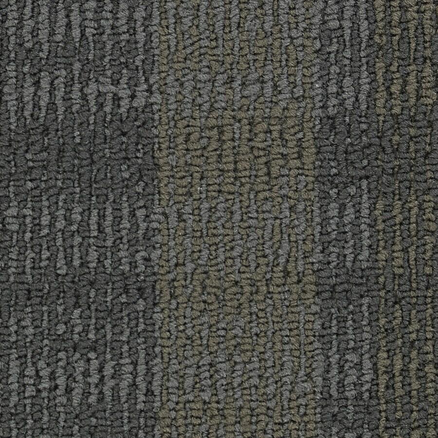 Coronet Entrepreneur 18-Pack 24-in x 24-in Landing the Sale Indoor Berber Glue-Down Carpet Tile