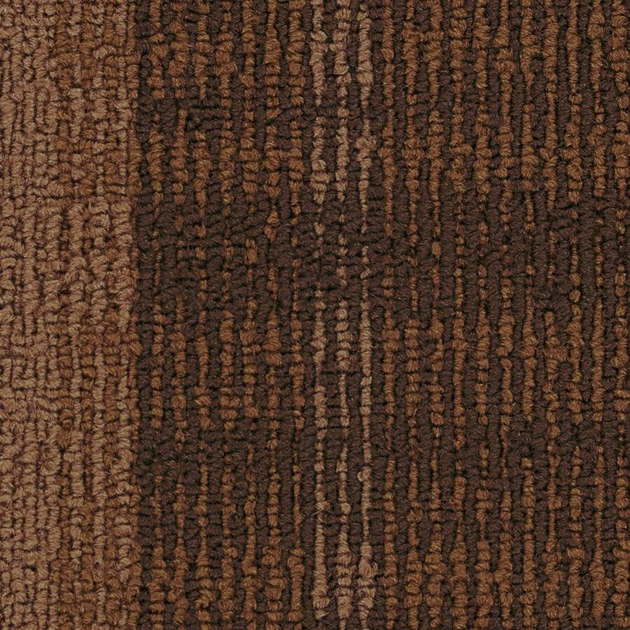 Coronet Entrepreneur 18-Pack 24-in x 24-in Self Promoter Berber/Loop Full Spread Adhesive Carpet Tile