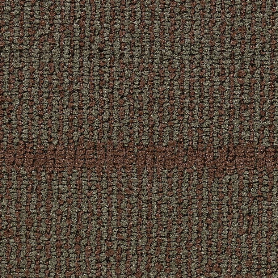 Coronet Founder 18-Pack 24-in x 24-in Adventurous Berber/Loop Full Spread Adhesive Carpet Tile