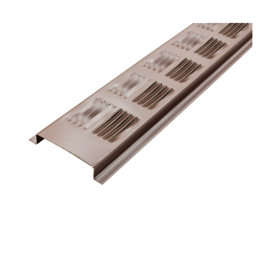 delete 4 96 in L Brown Aluminum Soffit Vent  Shop Soffit Vents at Lowes com. Soffit Vent Lowes