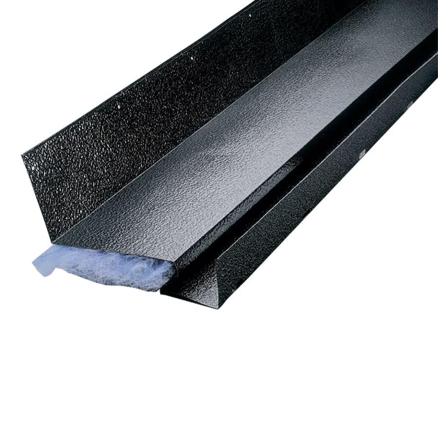 Air Vent 10 In X 96 In Black Aluminum Stick Roof Ridge Vent