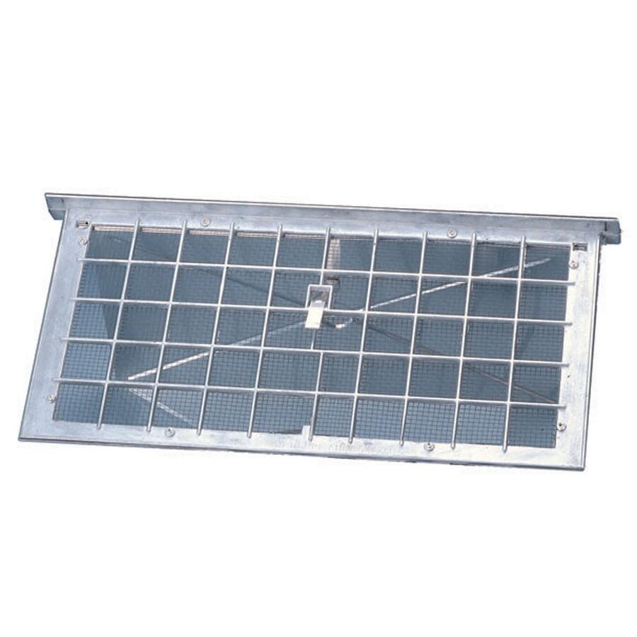 Air Vent 17-in x 7.75-in Aluminum Foundation Vent