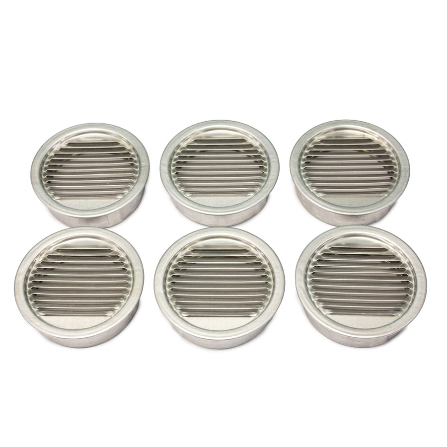 Air Vent 3.5-in L Mill Aluminum Soffit Vent