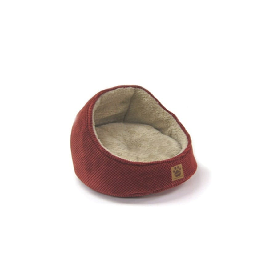 SnooZZy Dark Rust Polyester Round Dog Bed