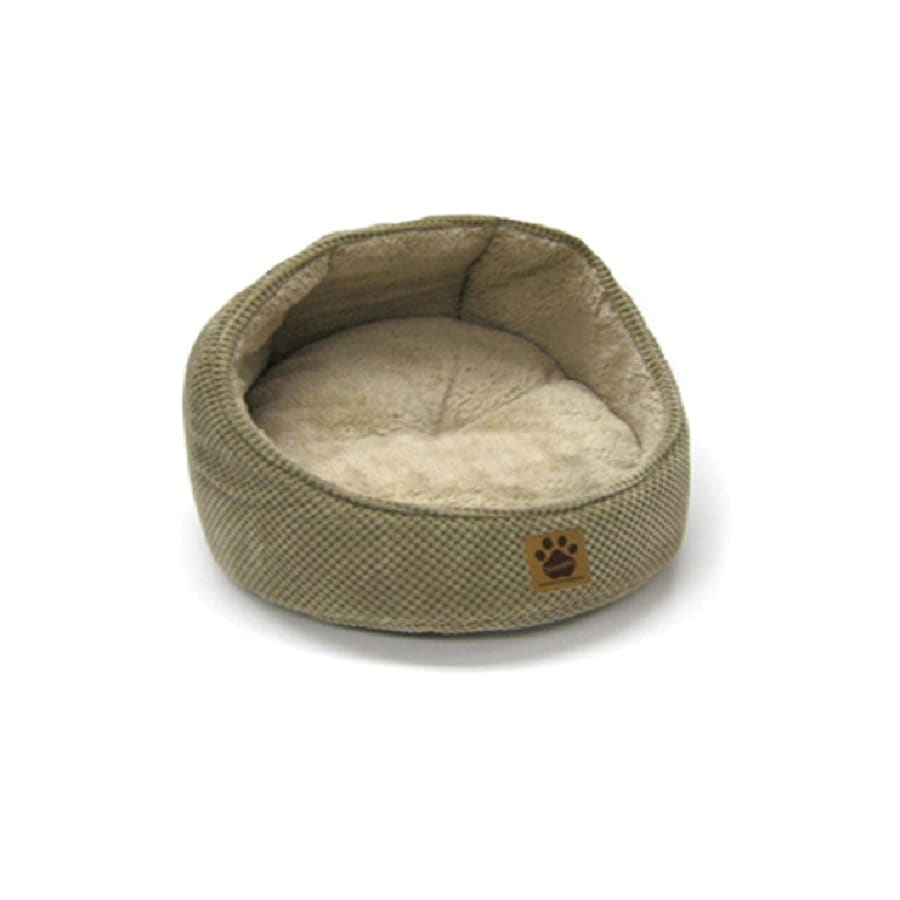 SnooZZy Tan Polyester Round Dog Bed