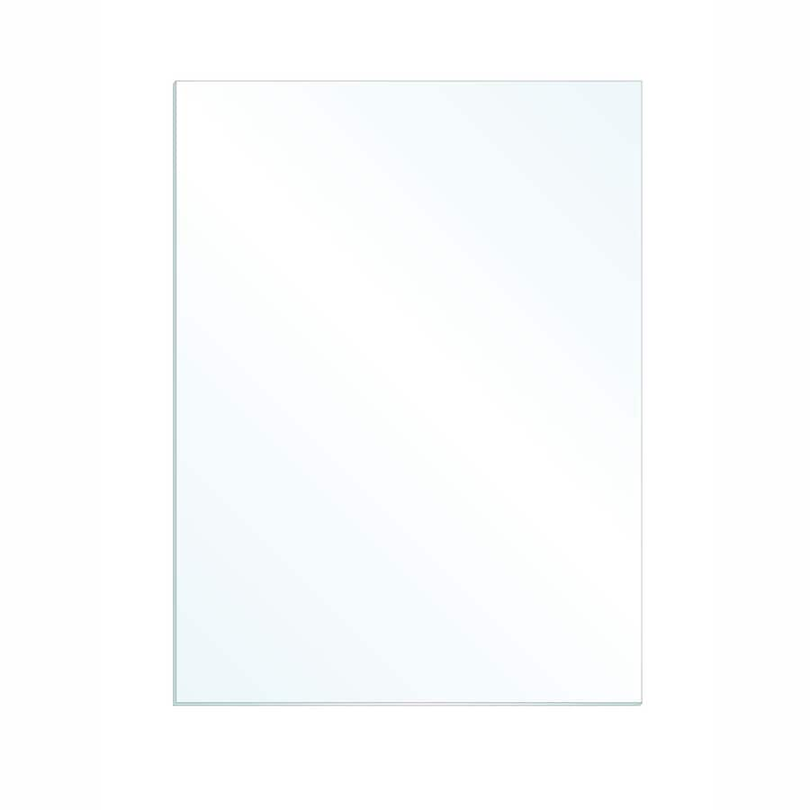 Gardner Glass Products 3/32-in x 16-in x 12-in Clear Replacement Glass for Windows, Cabinets, and Picture Frames