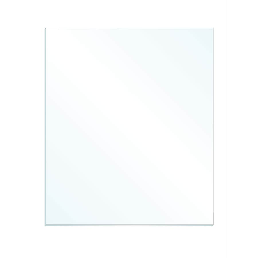 Gardner Glass Products 3/32-in x 24-in x 36-in Clear Replacement Glass for Windows Cabinets Picture Frames