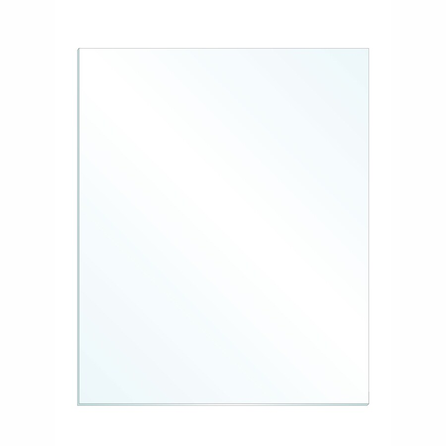 Gardner Glass Products 3/32-in x 28-in x 32-in Clear Replacement Glass for Windows Cabinets Picture Frames