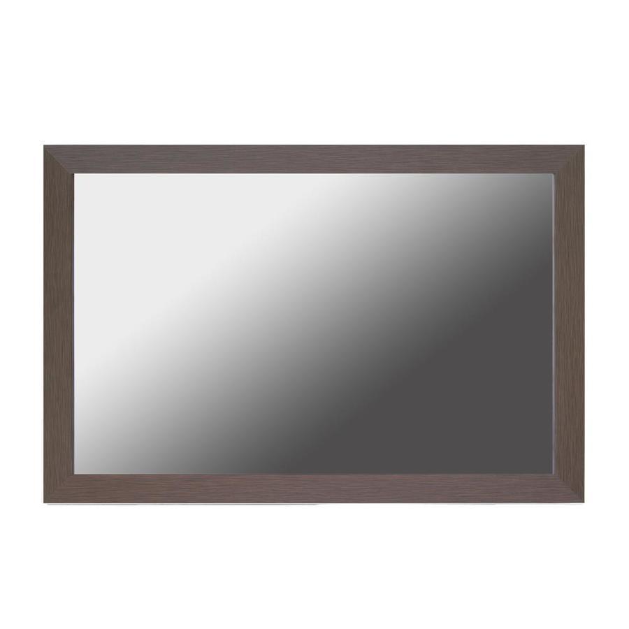 Shop Gardner Glass Products Mirror Frame Kit 20 x 24 Weston Espresso ...