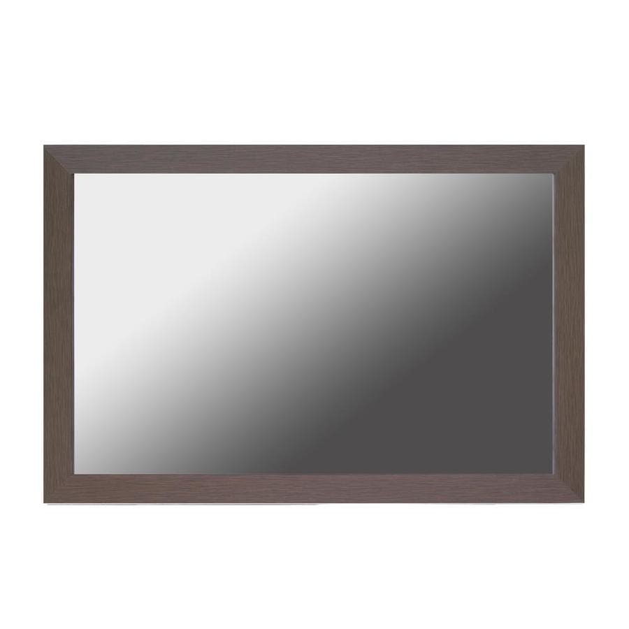 Gardner Glass Products Mirror Frame Kit 48 X 36 Weston Espresso At